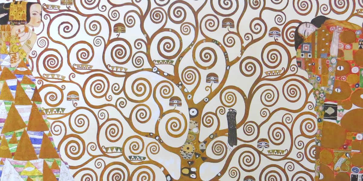 Η Εργίνα Ξυδούς είναι Ιστορικός Τέχνης (Mag. Πανεπιστημίου Βιέννης) - Gustav Klimt - The Tree Of Life